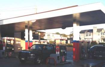 Our partner Circle K operates a small store on the Monterey border....