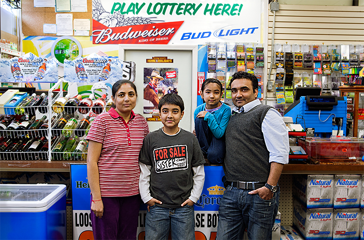 Patel Family, Lowell, Massachusetts