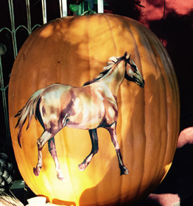 Horse Pumpkin