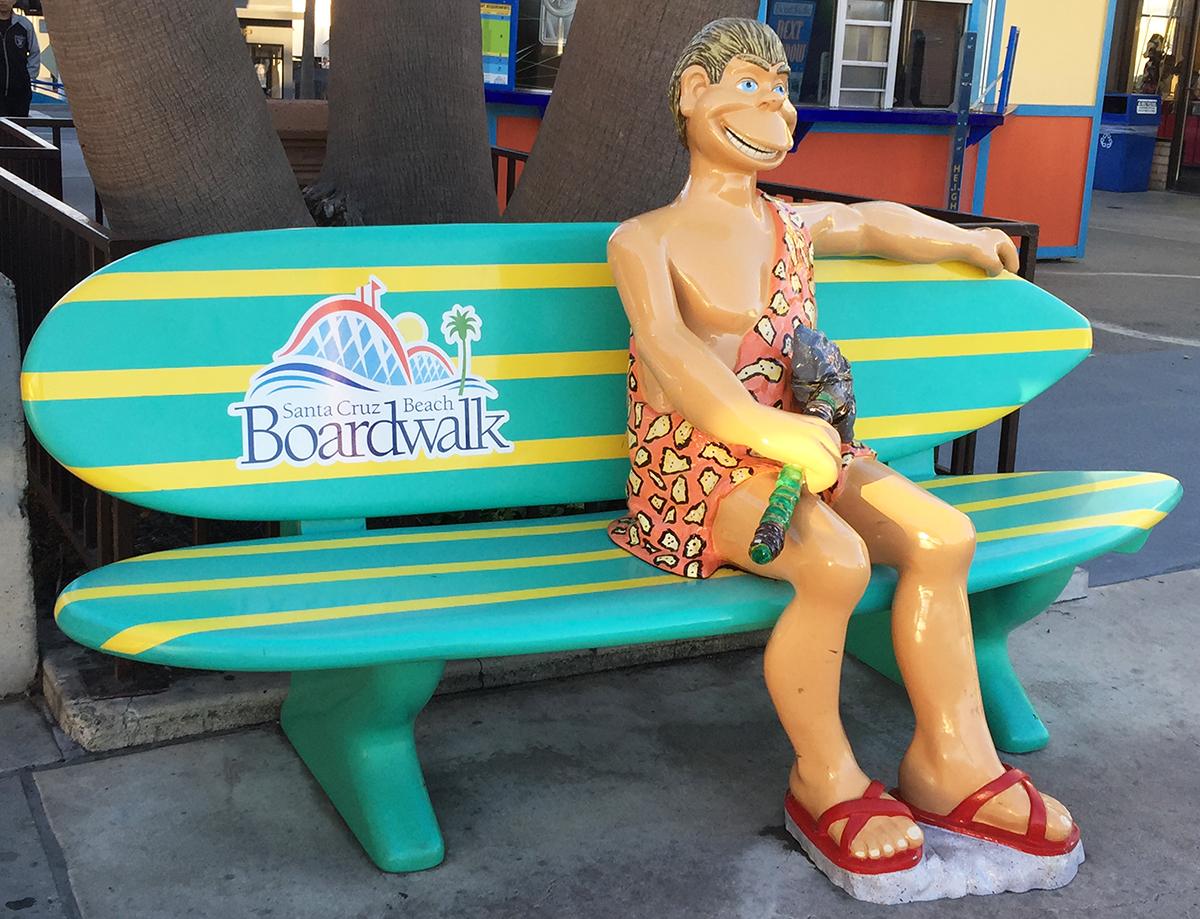 Boardwalk Caveman