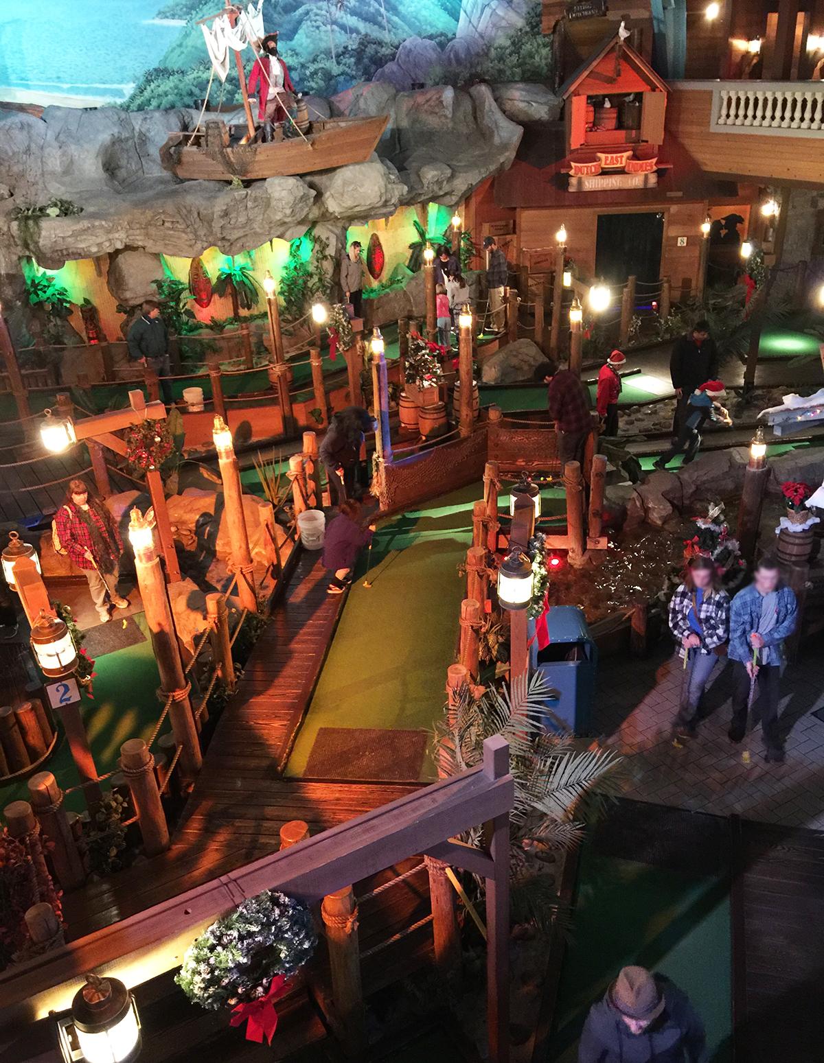 Pirate's Cove Mini-Golf