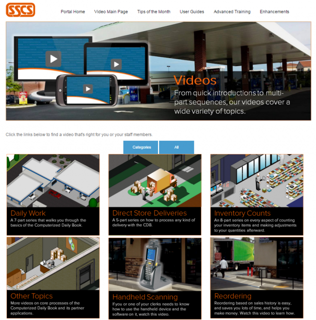 Portal Video Page