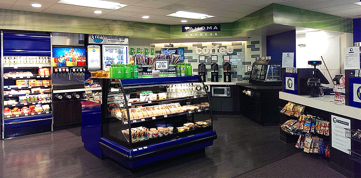 Tahoma Market Interior