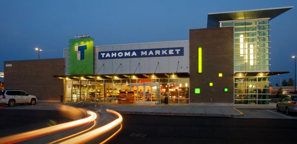 Tahoma Market at Night